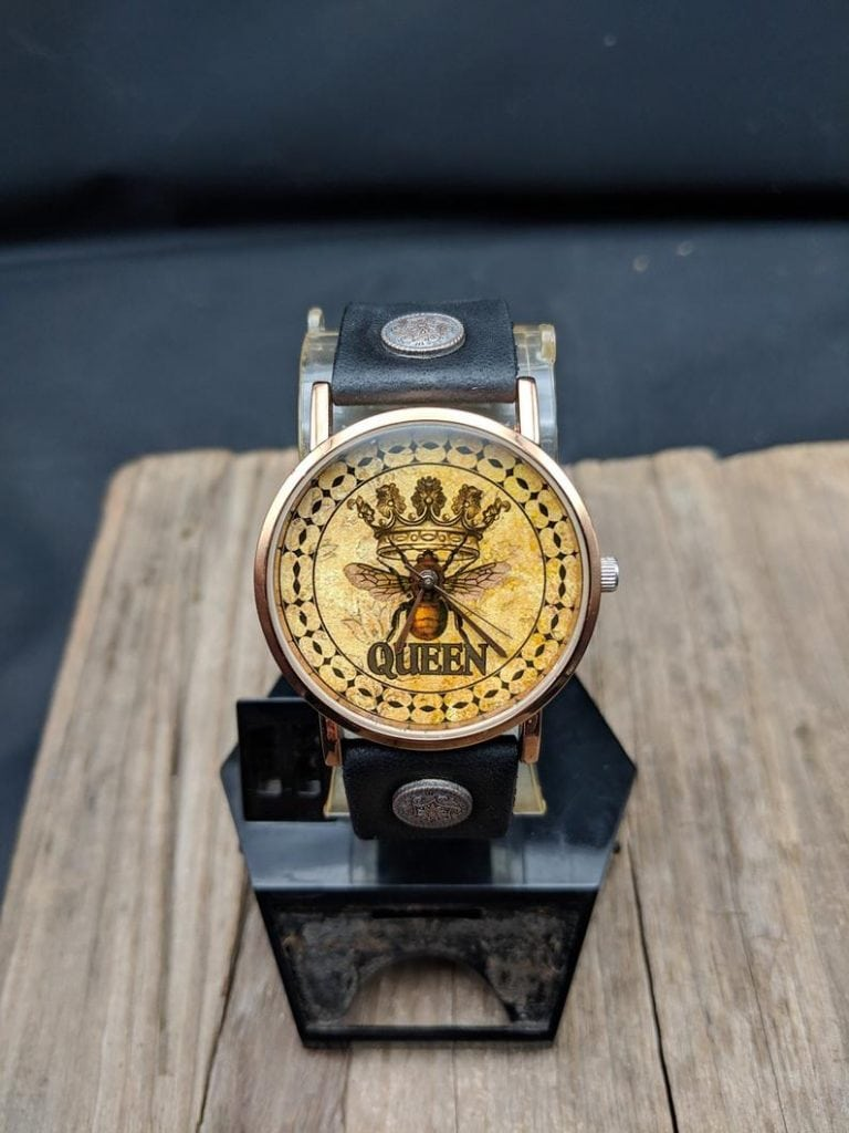 queen bee watch as a bee gift idea for her