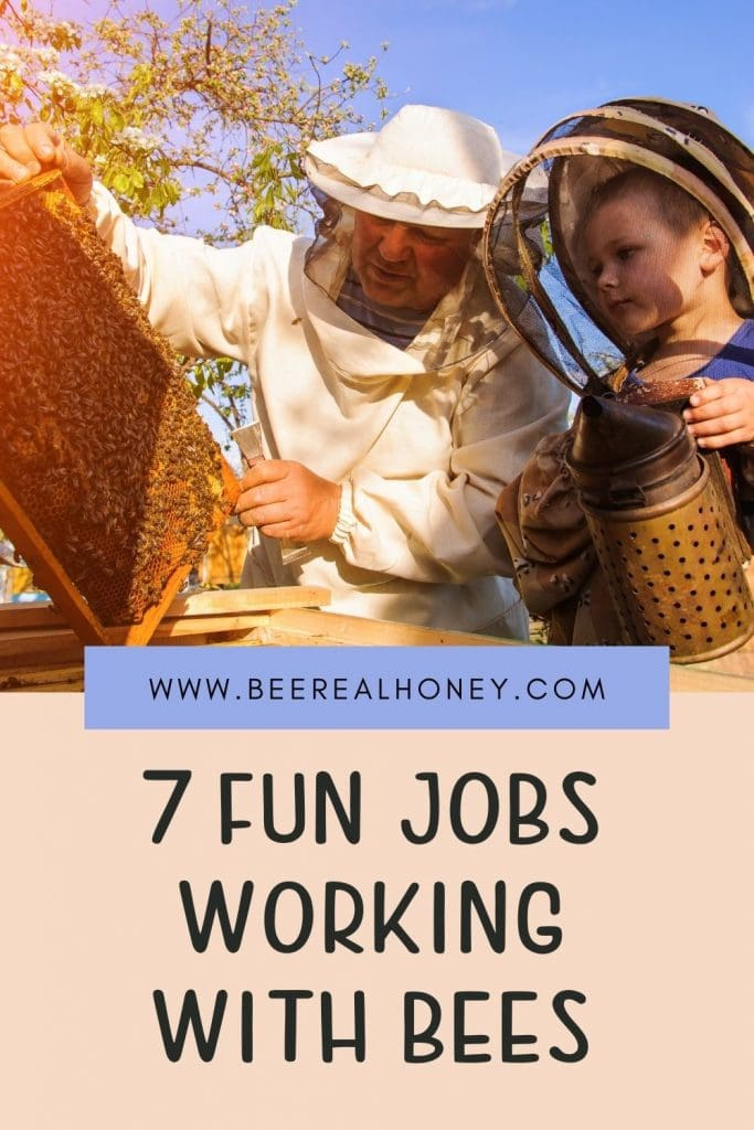 Pinterest pins, Working With Bees